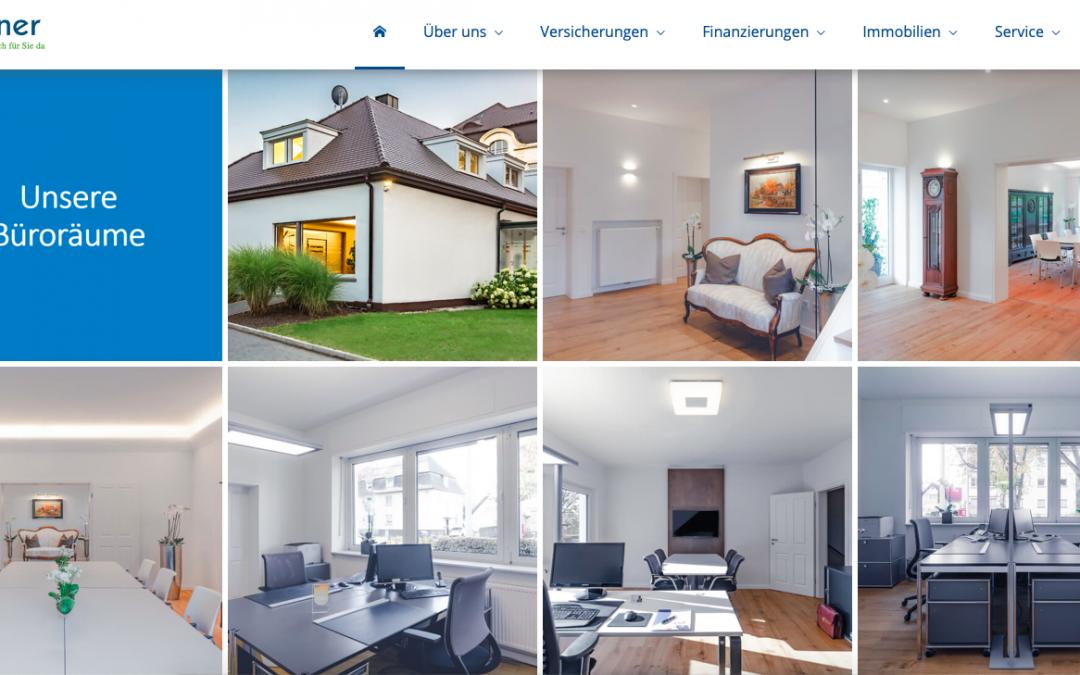 Ebner GmbH und EES Wohnbau GmbH online mit neuem Gesicht